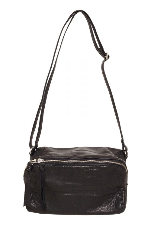 Vega Bumbag Leather Black - I.N.K Collection