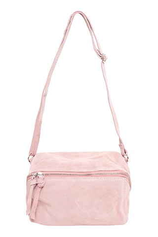 Vega Bumbag Suede Adobe Rose- I.N.K Collection