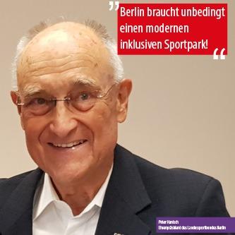 """Berlin braucht unbedingt einen modernen inklusiven Sportpark!"""