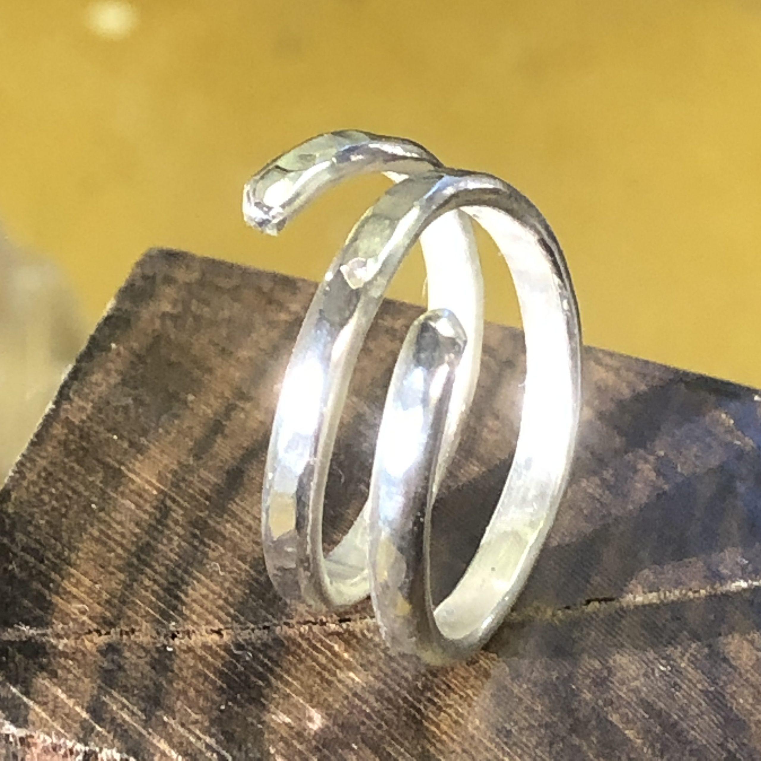 Spiralring Silver