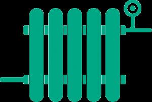Radiator icoon