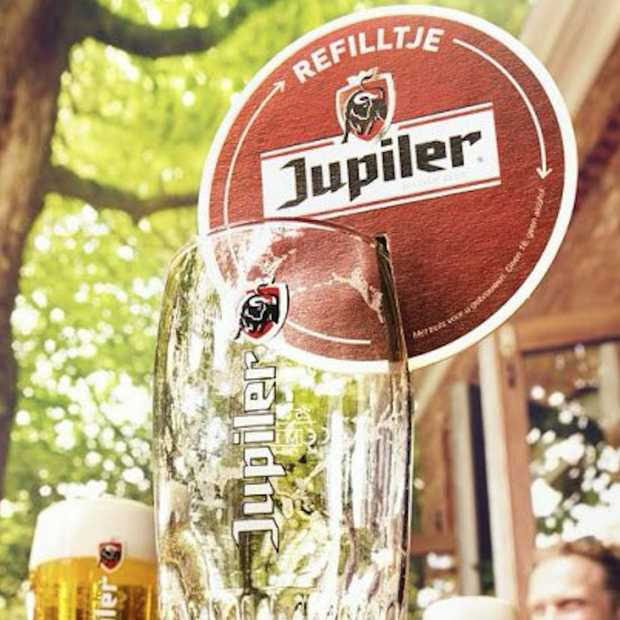 A coaster that is used to demand a refill. Easy to produce, very innovative!