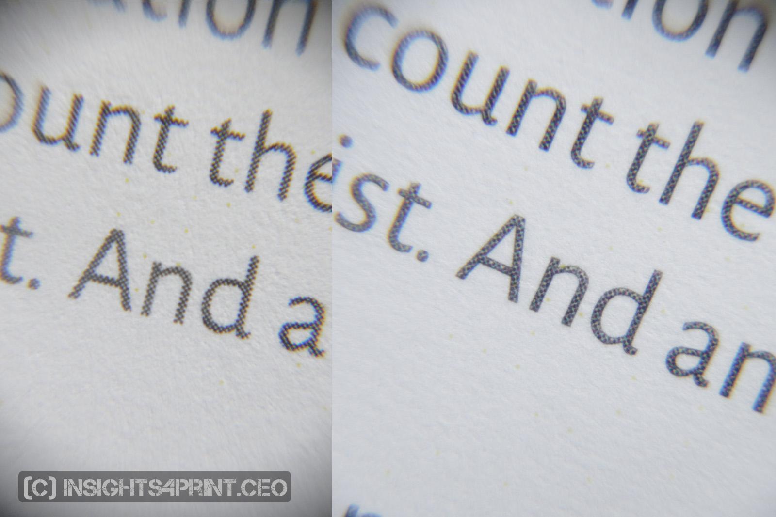 black text: K only vs composite