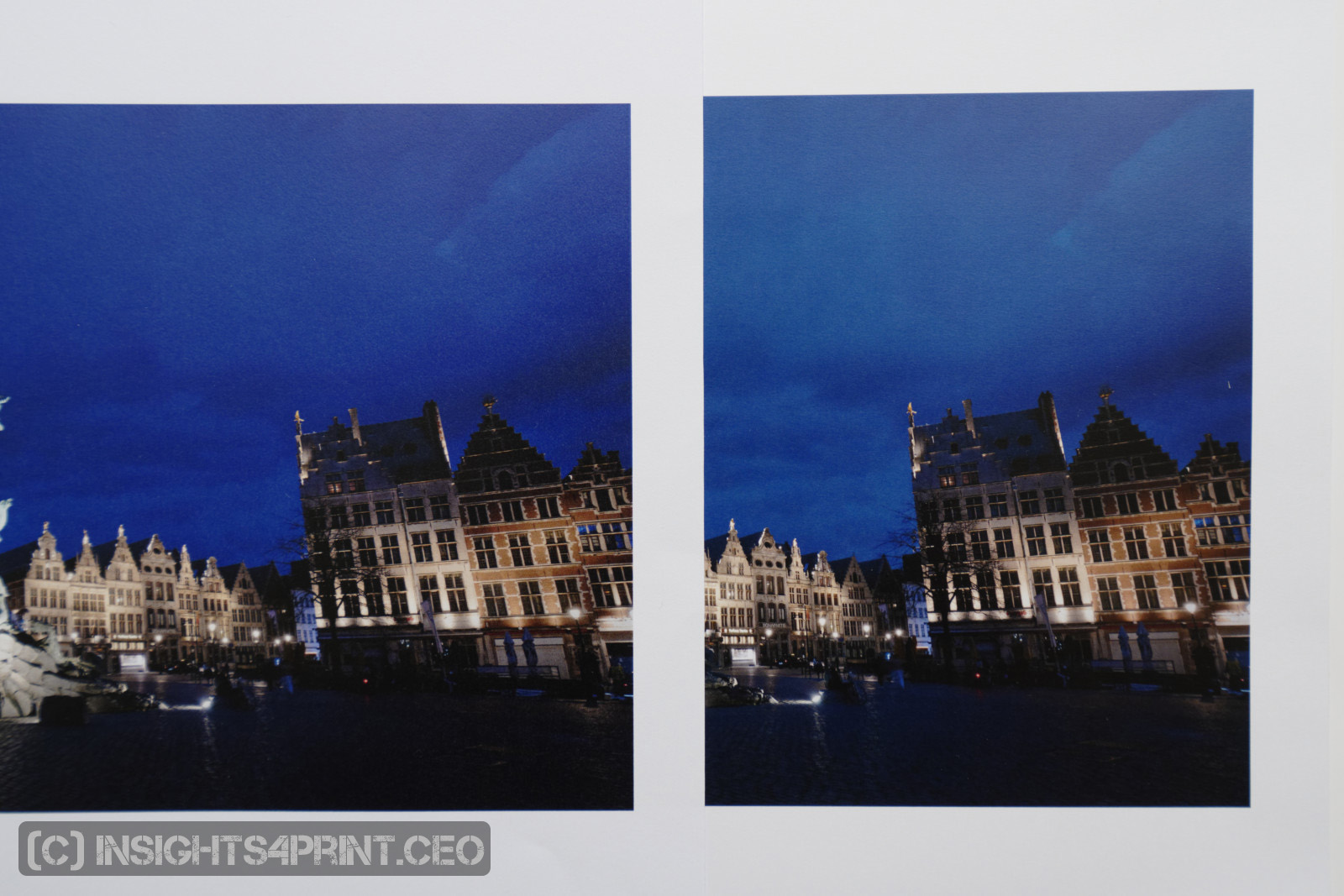 two Iridesse prints compared