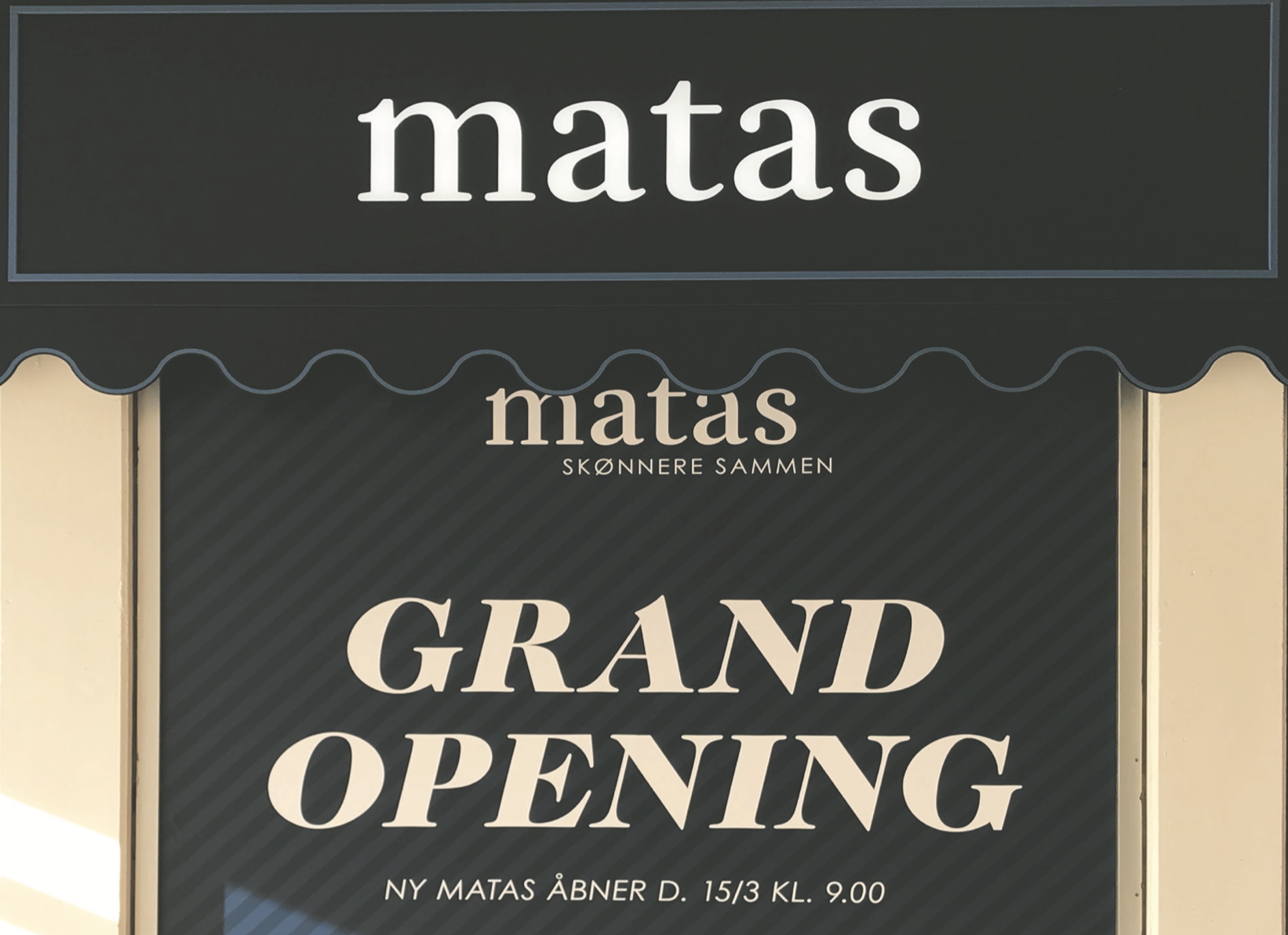 Grand Opening Matas Espergærde
