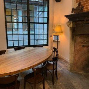 Table chez Würst à Gant