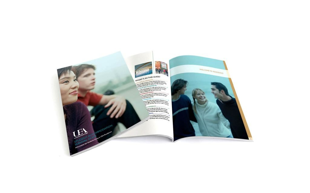 Booklet designed by Instinct creative.