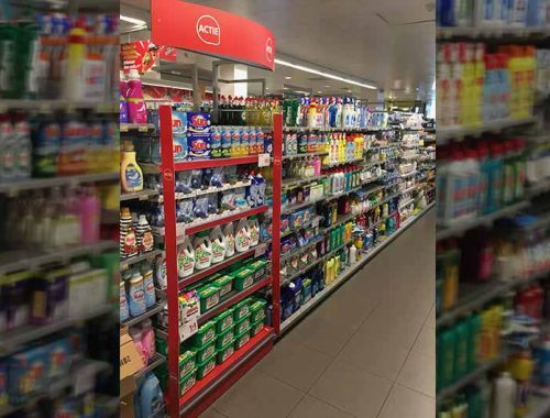 Shopper marketing shelf brand activation