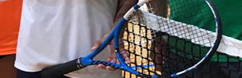 size of the racket