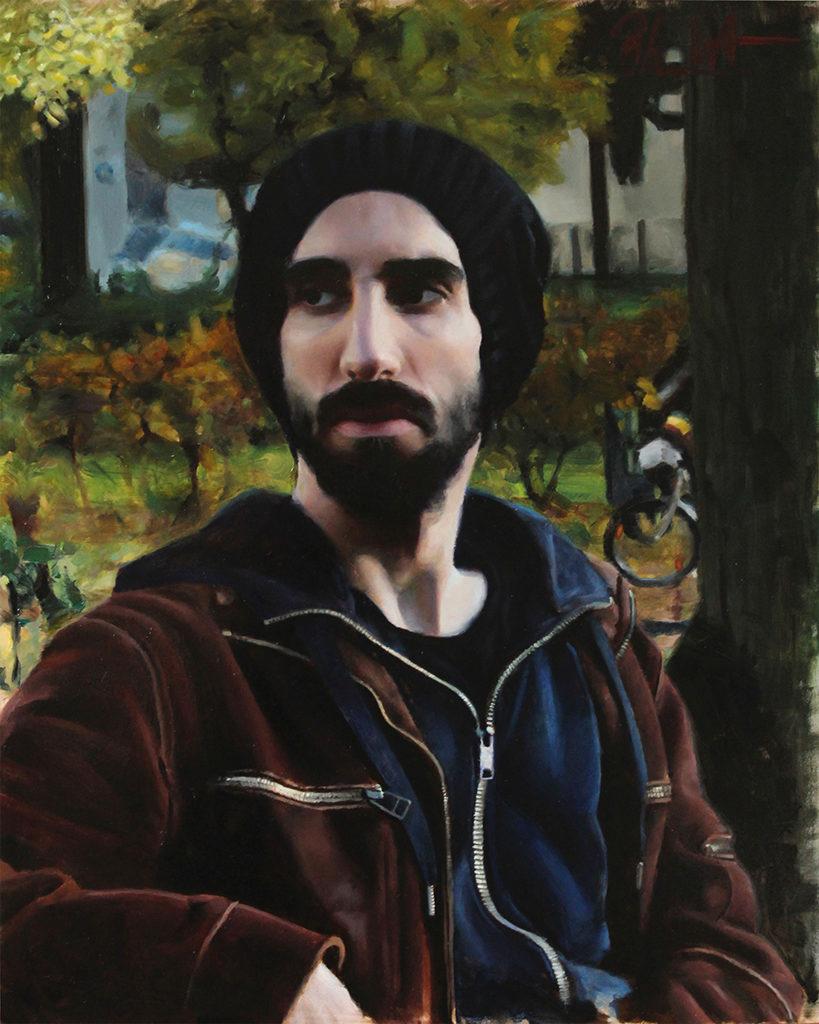 Phil Walter - Porträtiertes Selbst