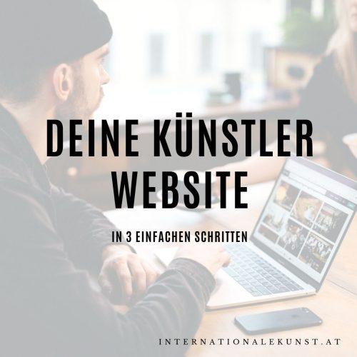 Künstler-Website