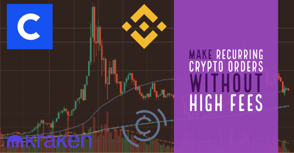 Make recurring crypto orders without high fees