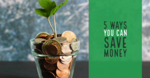 ways you can save money