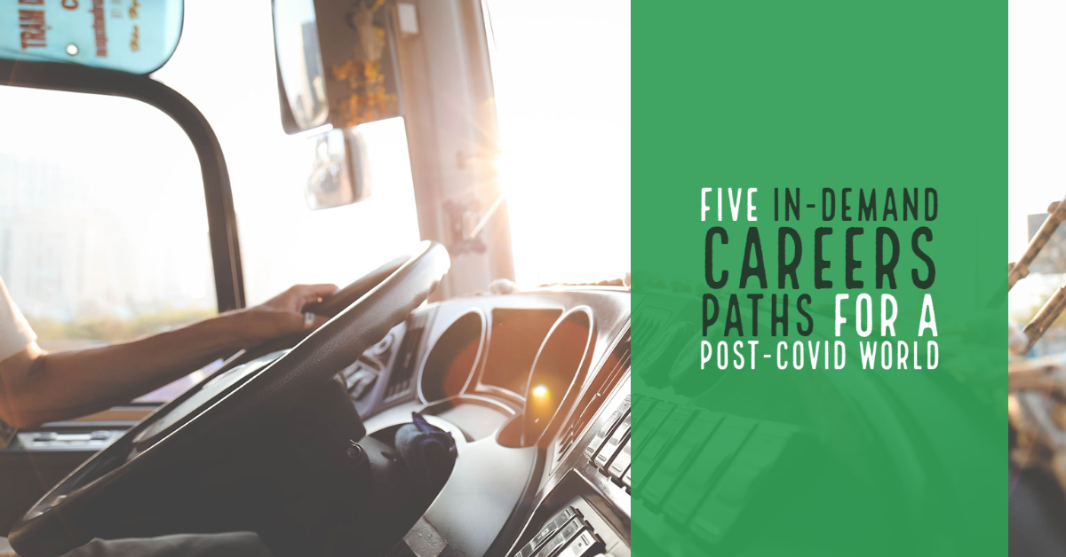 Five In-Demand Careers Paths For a Post-COVID world