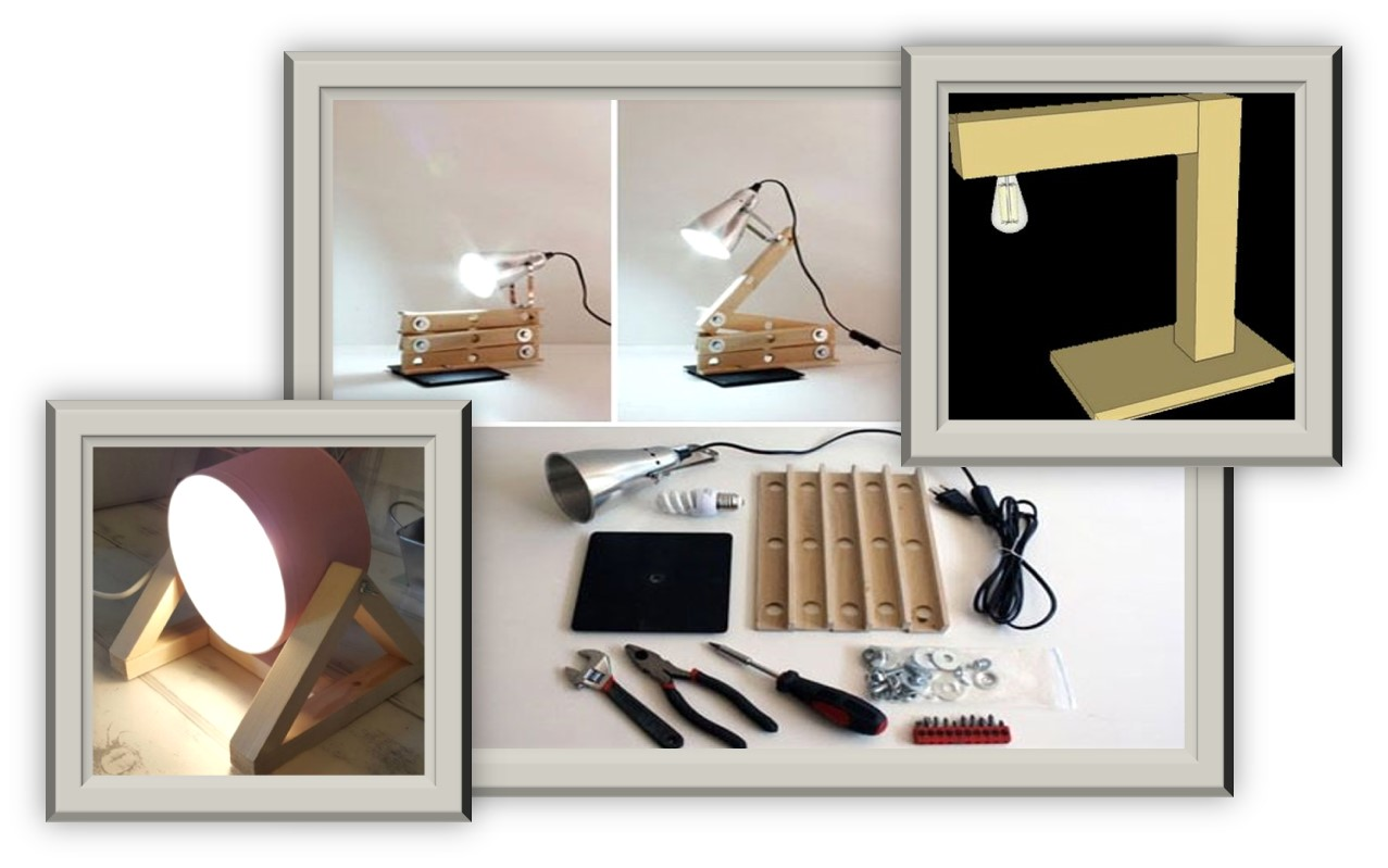 Workshop voor senioren een tafellamp maken
