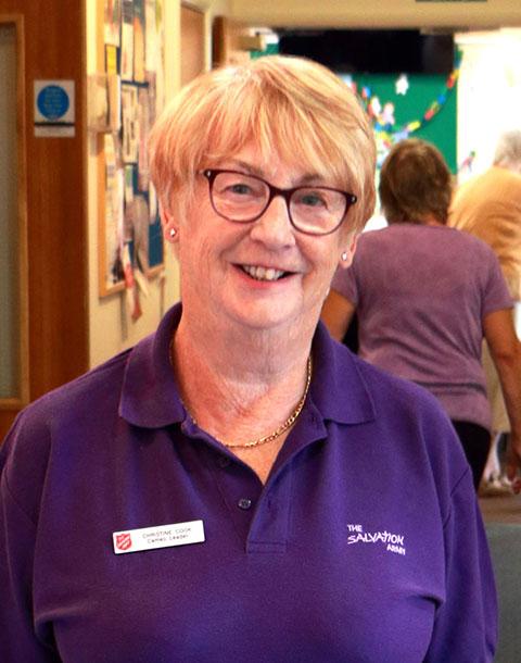 Christine Cook - The Salvation Army - Ipswich Citadel