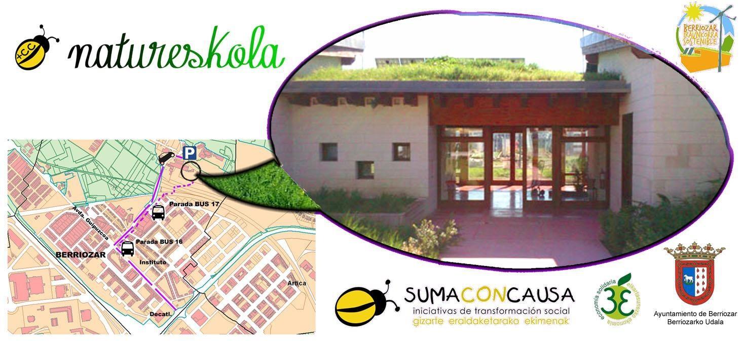 NOLA GORDE GURE HAZIAK-Ikastaroa -Berriozarko NaturEskola @ Berriozarko NaturEskola