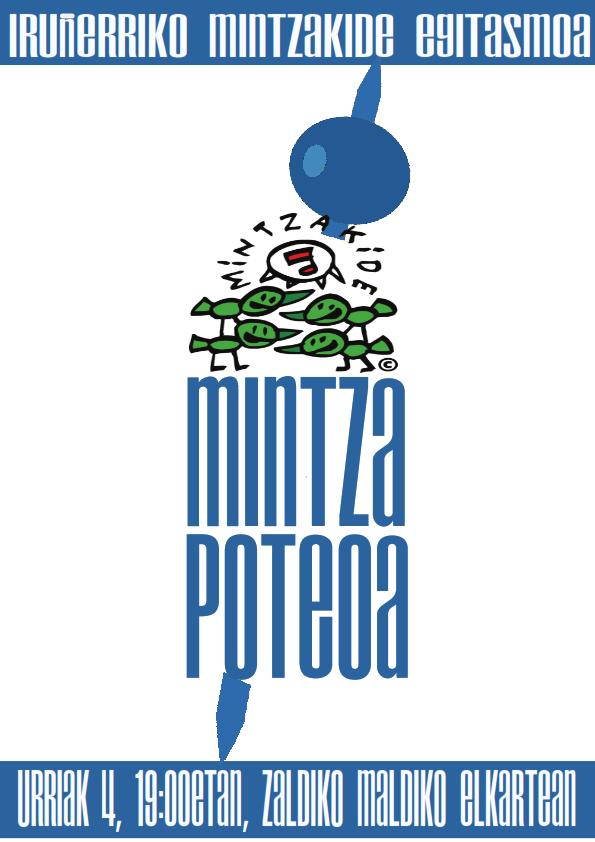 MINTZA-POTEOA, esan kaixo ikasturte berriari!