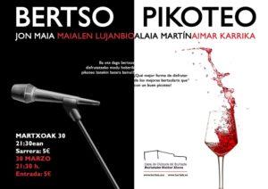 BERTSO PIKOTEOA @ Burlatako Kultur Etxea