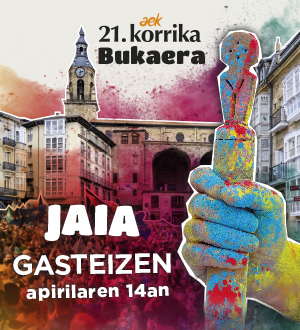 21. KORRIKAren Azken Jaia: GASTEIZ @ Gasteiz