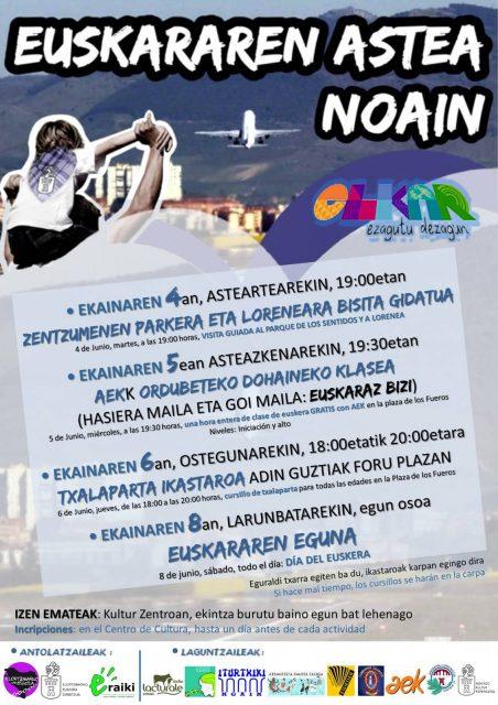 NOAINGO EUSKARAREN EGUNA @ Noain