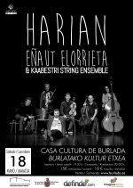 HARIAN: Eñaut Elorrieta&Kaasbestri String Ensemble @ Burlatako Kultura Etxea