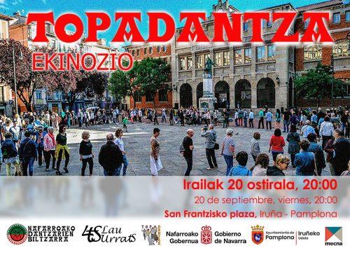TOPADANTZA (EKINOZIO) @ San Frantzizko plazan