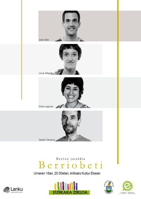 BERTSO JAIALDIA BERRIOBEITIN
