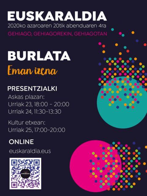 EUSKARALDIAN IZENA-EMATEA @ BURLATAKO ASKAS PLAZAN