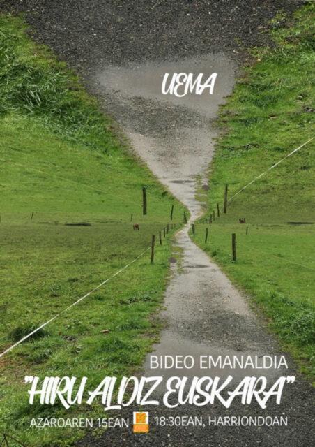 BIDEO EMANALDIA @ LESAKAKO HARRIONDOA