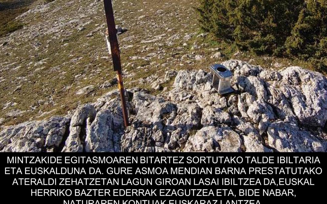 DULANTZ (1243m). Mintzakide Mendi taldea.