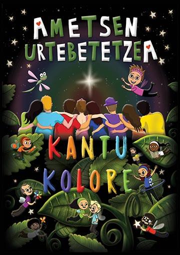 """KANTU KOLORE """"AMETSEN URTEBETETZEA"""" (1. sesioa) @ Barañaingo Entzularetoa"""