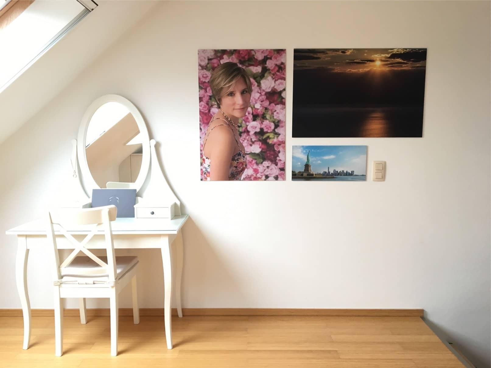 Photographe Halle Décorer avec des photos