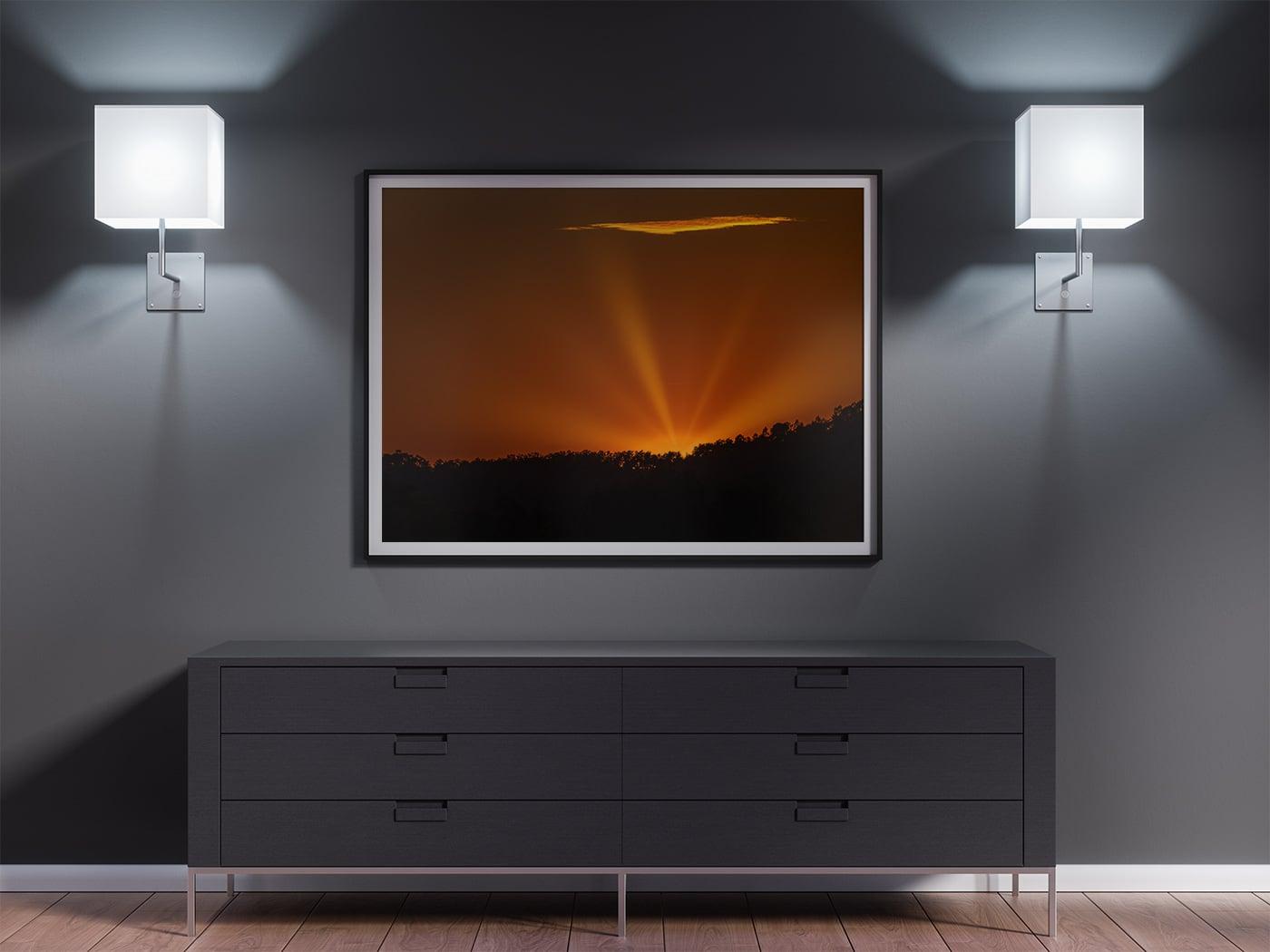 Photographie de paysage : les rayons de soleil