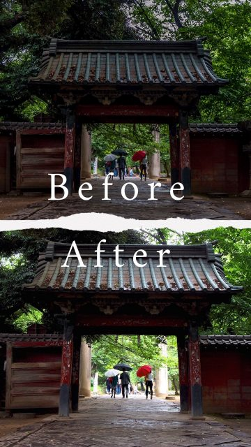Before & After : Japan