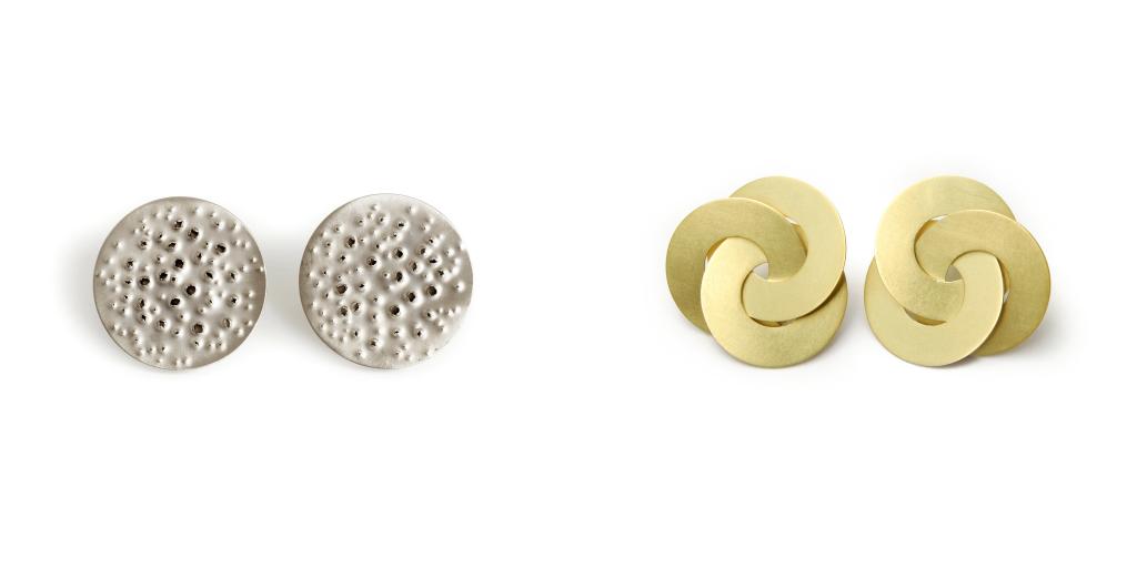 Claude Schmitz, earrings, Isabella Hund Gallery
