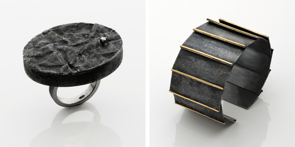 Gigi Mariani, Ring und Armreif, Isabella Hund Gallery
