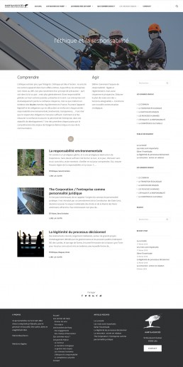 Site Harp page articles