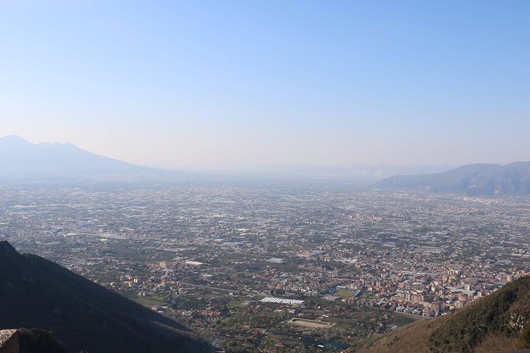 Napoli udsigt fra almalfikusten