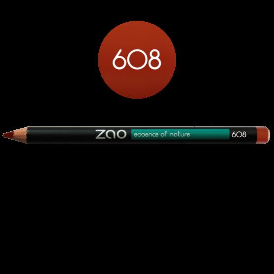 Pencil Multipurpose Liner Orange Brown
