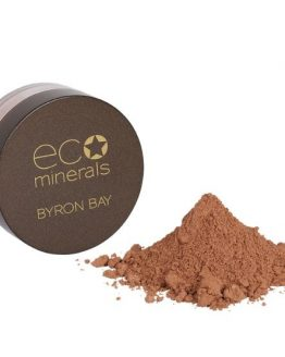 mineral bronzer boks med pulver