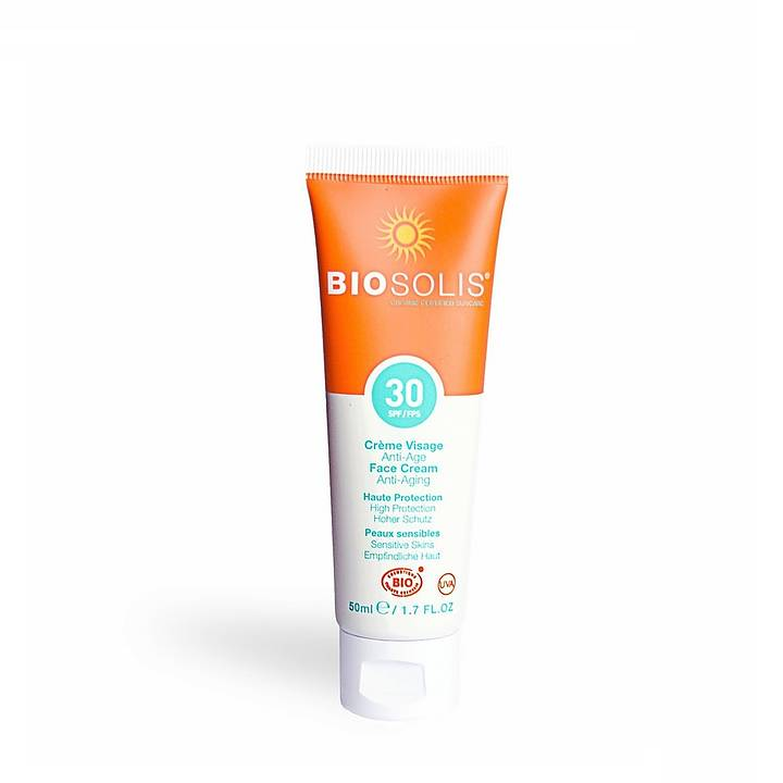 Tube med anti-aging face cream