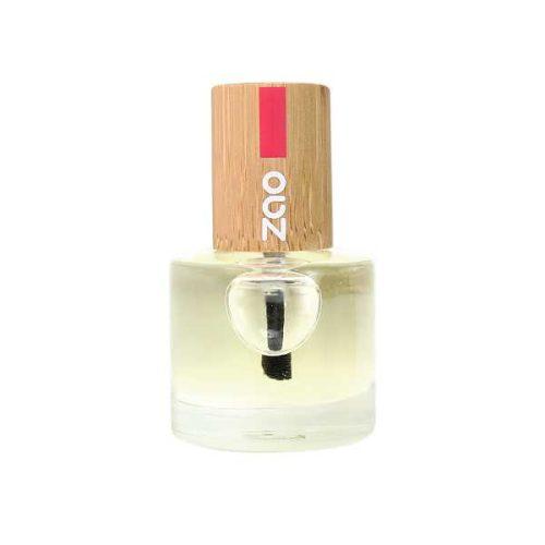 Viser neglelakk beholder med Nail & Cuticle Oil fra ZAO