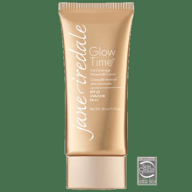 Viser tube med BB Cream fra Jane Iredale