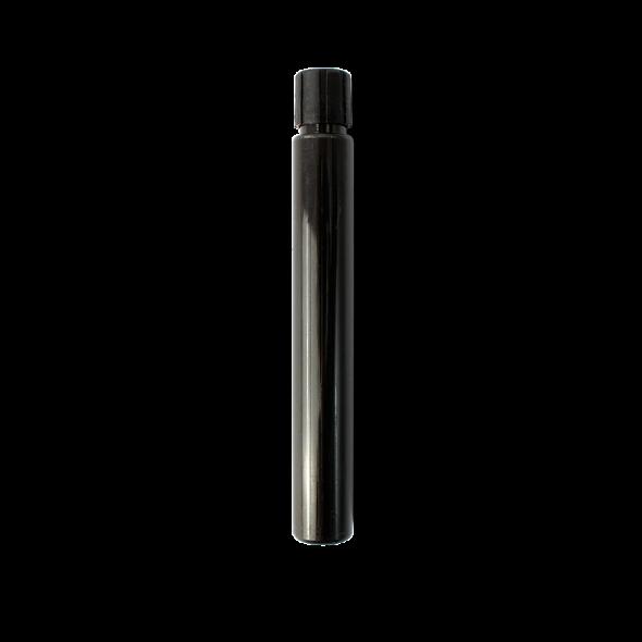 Viser svart refill flaske med Aloe Vera Mascara fra Zao