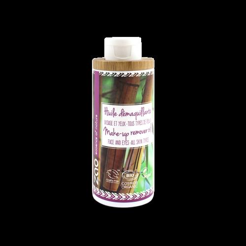 Viser flaske med Make-Up Remover Oil fra Zao