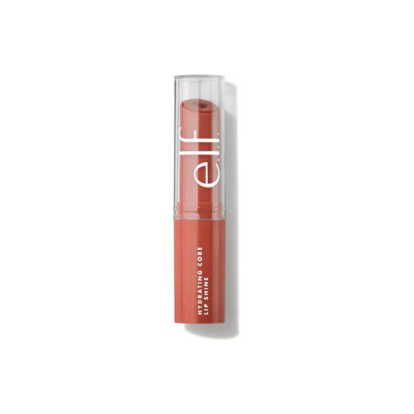 Viser produktet Hydrating Core Lip Shine i fargen Cheery