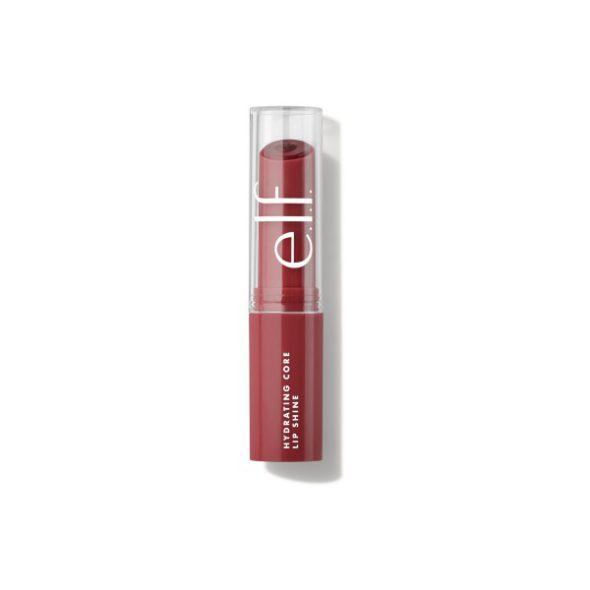 Viser produktet Hydrating Core Lip Shine i fargen Joyful