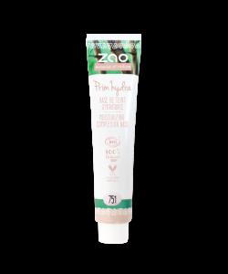 Viser praktisk refill tube fra Zao, her med Prim'Hydra Moisturizing Primer 751