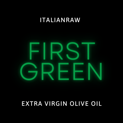 first green extra virgn novello olive oil